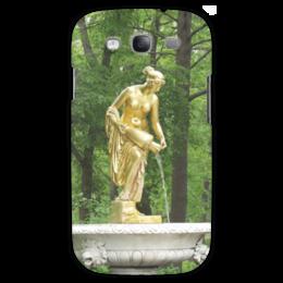 """Чехол для Samsung Galaxy S3 """"Нимфа"""" - россия, парк, скульптура, нимфа, петергоф"""