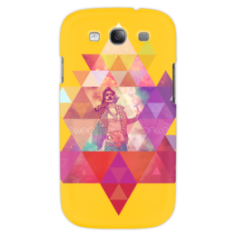 "Чехол для Samsung Galaxy S3 """"HIPSTA SWAG"" collection: Salvador Dali"" - сальвадор дали, swag, свэг, salvador dali, геомерия"
