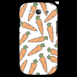 """Чехол для Samsung Galaxy S3 """"Морковки"""" - морковь, овощи, лето, здоровье, веган"""