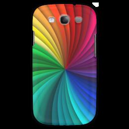 """Чехол для Samsung Galaxy S3 """"Калейдоскоп"""" - узор, рисунок, абстракция, стильный, абстрактный"""