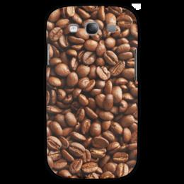 """Чехол для Samsung Galaxy S3 """"Кофейные зерна"""" - кофе"""