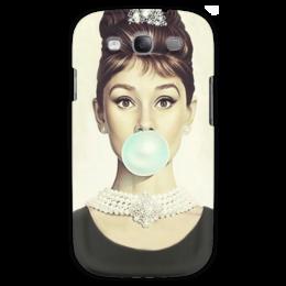 "Чехол для Samsung Galaxy S3 ""Одри Хепбёрн"" - одри хепбёрн, audrey hepburn"