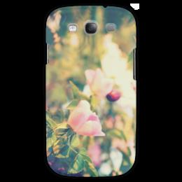 """Чехол для Samsung Galaxy S3 """"Retro Rosa """" - цветы, rose, ретро, девушке, природа, розы"""