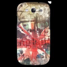 "Чехол для Samsung Galaxy S3 ""Английский флаг"" - арт, uk, union jack, английский флаг, великобритания"