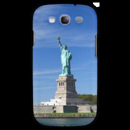 """Чехол для Samsung Galaxy S3 """"Статуя Свободы"""" - нью-йорк, америка, статуя свободы"""