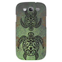 "Чехол для Samsung Galaxy S3 ""Две черепахи"" - стиль, орнамент, черепахи"