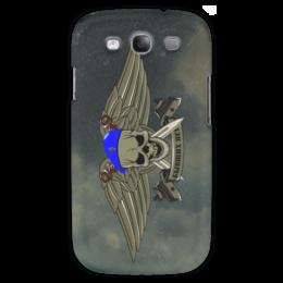"""Чехол для Samsung Galaxy S3 """"ВДВ!!!"""" - армия, нож, вдв, десант, голубой берет"""
