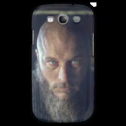 "Чехол для Samsung Galaxy S3 ""Рагнар"" - история, викинги, путь воина, рагнар, сериал викинги"