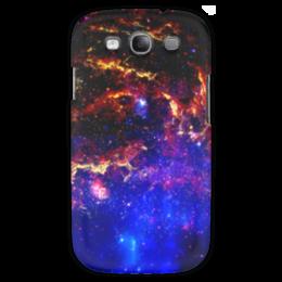 """Чехол для Samsung Galaxy S3 """"Великий Космос"""" - космос, наука, прогресс, денис гесс, the spaceway"""