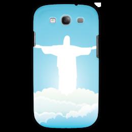 """Чехол для Samsung Galaxy S3 """"Иисус Христос"""" - вера, религия, иисус, бог"""