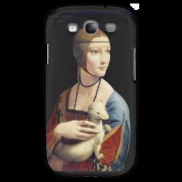 "Чехол для Samsung Galaxy S3 ""Дама с горностаем (Леонардо да Винчи)"" - картина, портрет, да винчи"