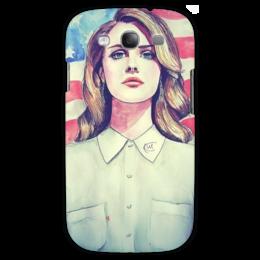 """Чехол для Samsung Galaxy S3 """"LanaDelRey"""" - s3, lanadelrey, singer, лана дель рей"""