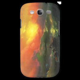 "Чехол для Samsung Galaxy S3 ""Девятый вал (картина Айвазовского)"" - картина, айвазовский"