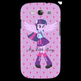 """Чехол для Samsung Galaxy S3 """"Искорка (Девочки Эквестрии)"""" - мой маленький пони, мультфильм, искорка, equestria girls, девочки эквестрии"""