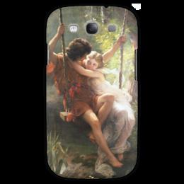 """Чехол для Samsung Galaxy S3 """"Весна (Пьер Огюст Кот)"""" - кот, картина"""