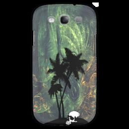 """Чехол для Samsung Galaxy S3 """"Джунгли"""" - стиль, пальма, джунгли"""