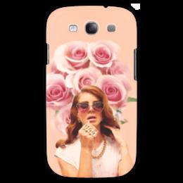 """Чехол для Samsung Galaxy S3 """"Lana Del Rey"""" - lana del rey, девушка, лана дель рей, розы, цветы"""