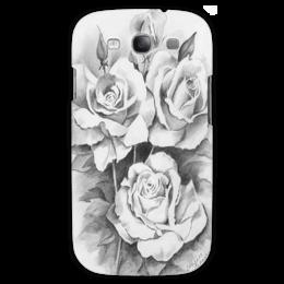 """Чехол для Samsung Galaxy S3 """"розы"""" - любовь, цветы, роза, roses"""