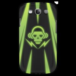 """Чехол для Samsung Galaxy S3 """"Skull"""" - skull, music, dubstep"""