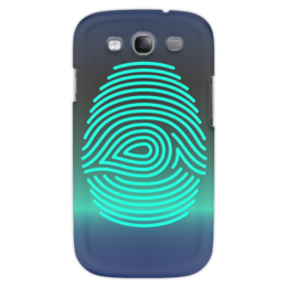 "Чехол для Samsung Galaxy S3 ""Отпечаток пальца"" - узор, рука, рисунок, палец, отпечаток"