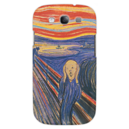 "Чехол для Samsung Galaxy S3 ""Эдвард Мунк- Крик"" - арт, картина, искусство, крик, эдвард мунк"