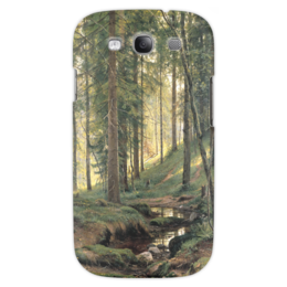 """Чехол для Samsung Galaxy S3 """"Ручей в лесу"""" - картина, шишкин"""