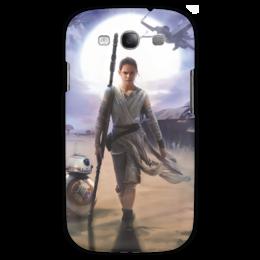 "Чехол для Samsung Galaxy S3 ""Звездные войны - Рей"" - фантастика, звездные войны, дарт вейдер, кино, star wars"
