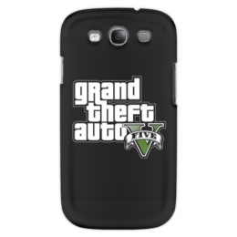 "Чехол для Samsung Galaxy S3 ""GTA 5"" - геймер, гта, gta 5, про игры, гесс"