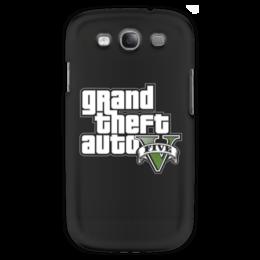 """Чехол для Samsung Galaxy S3 """"GTA 5"""" - геймер, гта, gta 5, про игры, гесс"""