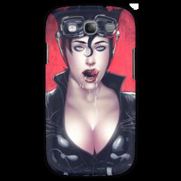 "Чехол для Samsung Galaxy S3 ""Catwoman"" - девушка, girl, женщина-кошка, catwoman"