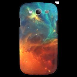 """Чехол для Samsung Galaxy S3 """"Космическая туманность"""" - космос, фотография, звёзды, спутник, туманность"""
