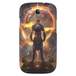 """Чехол для Samsung Galaxy S3 """"Starpoint Gemini Warlords"""" - starpoint gemini warlords, планета, космос, взрыв, компьютерная игра"""