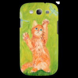 "Чехол для Samsung Galaxy S3 ""Поиграйте со мной"" - арт, cat, kitten, котенок"