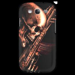 "Чехол для Samsung Galaxy S3 ""ДО КОНЦА!!!"" - skull, череп, weapon, ак, характер"
