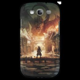 "Чехол для Samsung Galaxy S3 ""Хоббит"" - дракон, кино, властелин колец, hobbit, фродо"