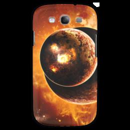 """Чехол для Samsung Galaxy S3 """"Наша вселенная"""" - космос, вселенная, наука, будущее, денис гесс"""