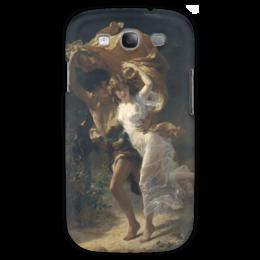 """Чехол для Samsung Galaxy S3 """"Буря (Пьер Огюст Кот)"""" - кот, картина"""