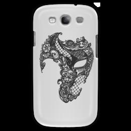 """Чехол для Samsung Galaxy S3 """"Венецианская маска"""" - венецианский карнавал, карнавальные маски, венеция, италия"""