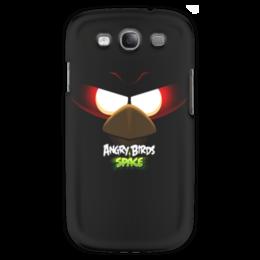 """Чехол для Samsung Galaxy S3 """"Space (Angry Birds)"""" - space, игра, мультфильм, птица, angry birds"""