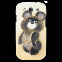 "Чехол для Samsung Galaxy S3 ""Олимпийский мишка"" - москва, moscow, олимпиада, сочи, олимпийский мишка, sochi, olympics, сочи 2014, 80's, чехол с мишкой"