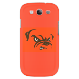 "Чехол для Samsung Galaxy S3 ""Бульдог"" - юмор, рисунок, бульдог, злая собака"