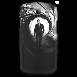 """Чехол для Samsung Galaxy S3 """"Skyfall 007"""" - агент, james bond, джеймс бонд, скайфолл, дэниел крэйг"""