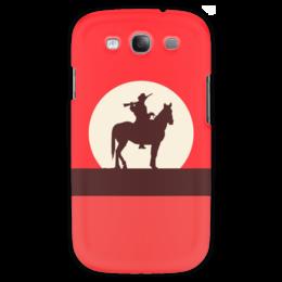 """Чехол для Samsung Galaxy S3 """"Ковбой"""" - кино, ковбой, дикий запад, вестерн"""