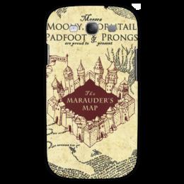 """Чехол для Samsung Galaxy S3 """"Карта мародеров"""" - harry potter, гарри поттер, карта мародеров"""
