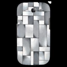 """Чехол для Samsung Galaxy S3 """"Композиция в сером"""" - картина, дусбург"""