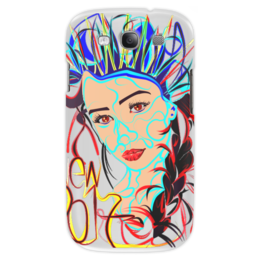 "Чехол для Samsung Galaxy S3 ""Снегурочка New 2017"" - снегурочка"