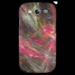 """Чехол для Samsung Galaxy S3 """"Абстрактный дизайн"""" - графика, абстракция, линии, авангард, лучи"""
