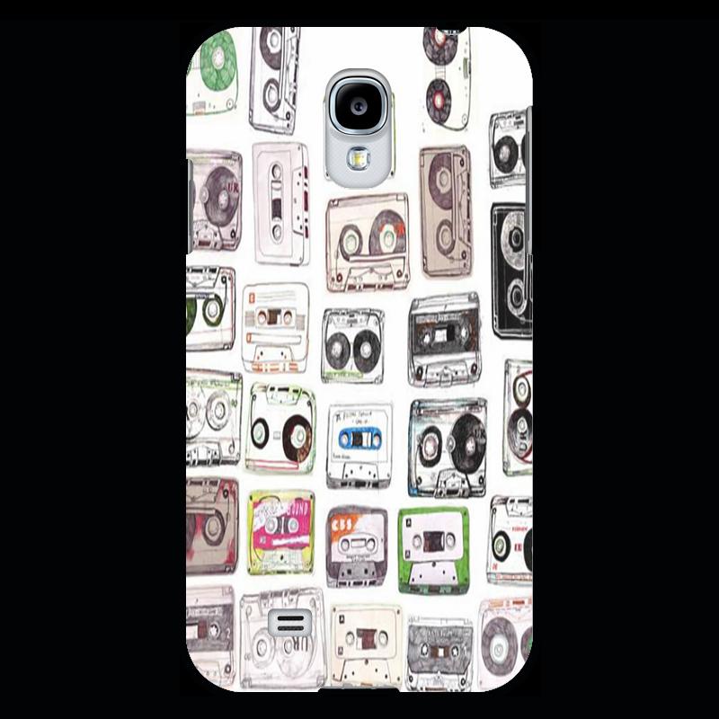 Чехол для Samsung Galaxy S4 Printio Кассеты кассеты для модулей памяти