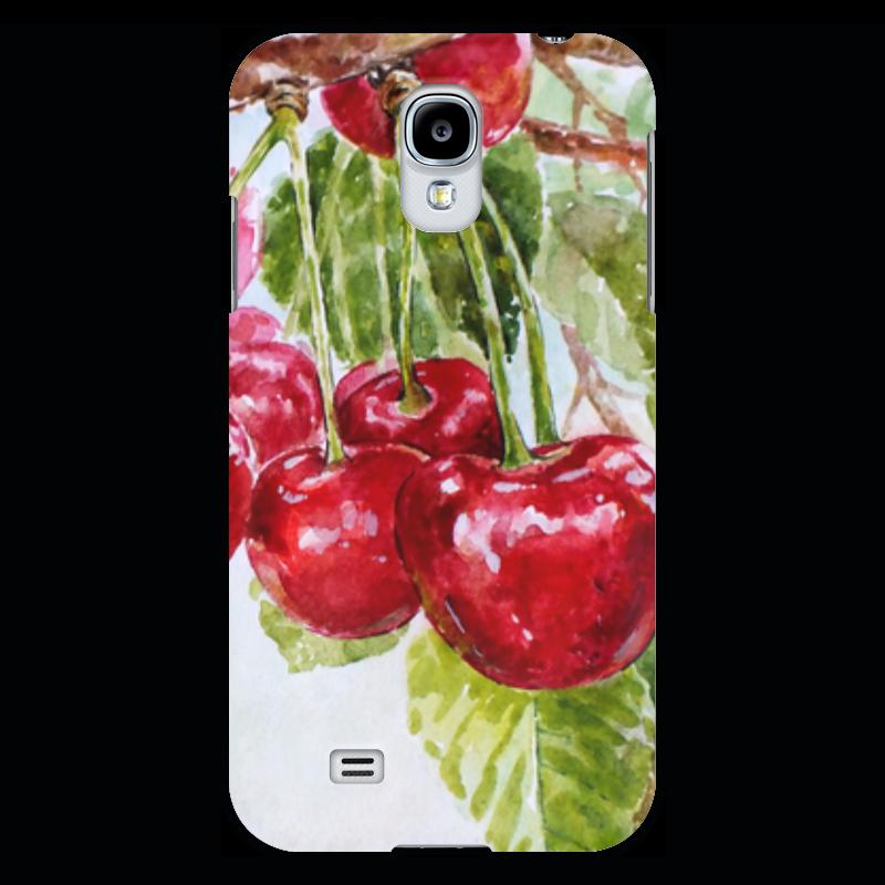 где купить  Чехол для Samsung Galaxy S4 Printio Красная черешня  по лучшей цене