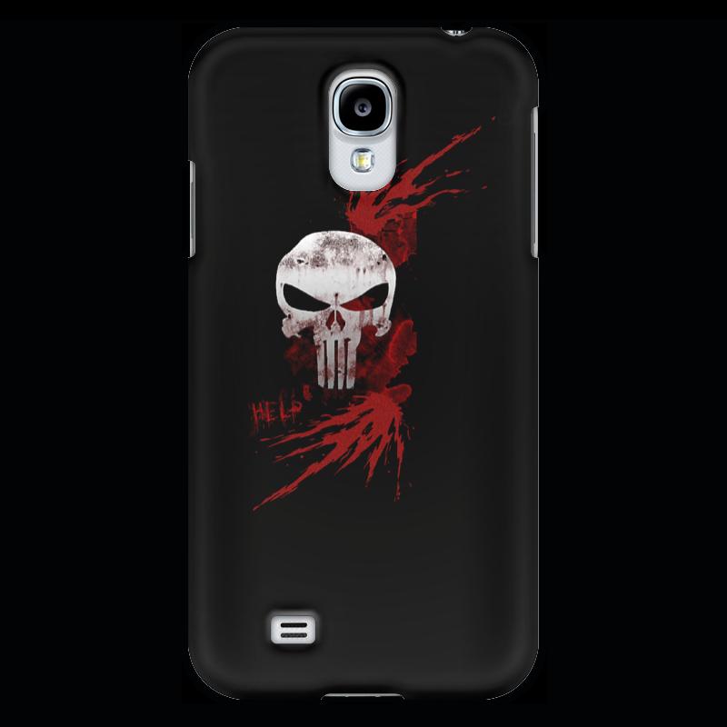 Чехол для Samsung Galaxy S4 Printio Каратель. punisher чехол для samsung galaxy s4 printio a soldier from the arma 3